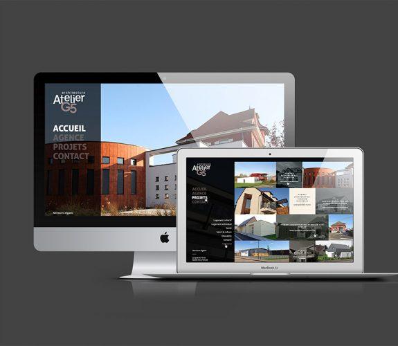 Atelier G5 - Site internet