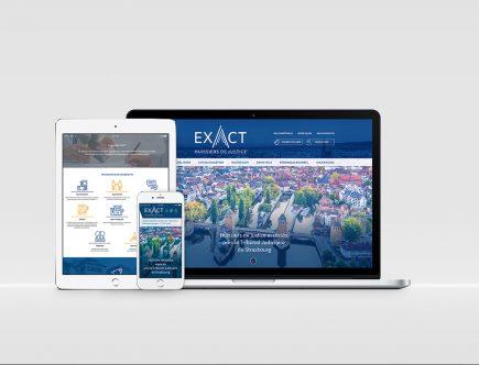 EXACT - Site internet