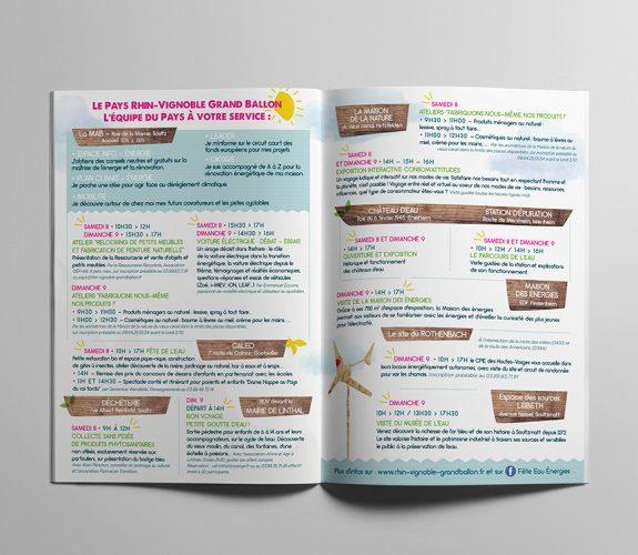 Fête de l'eau - Brochure
