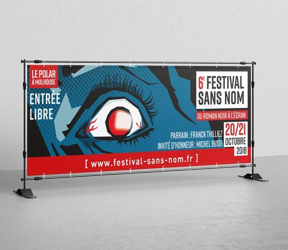 Festival Sans Nom 2018 - Bâche