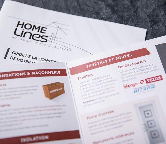 Homelines - Brochure