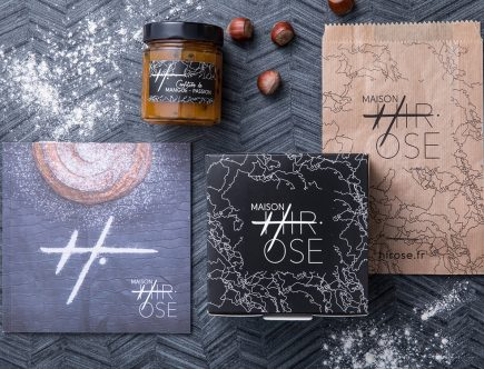 Maison Hirose - Plaquette et Packaging