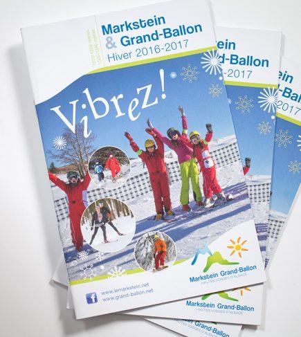 Syndicat Mixte du Markstein Grand Ballon - Brochure