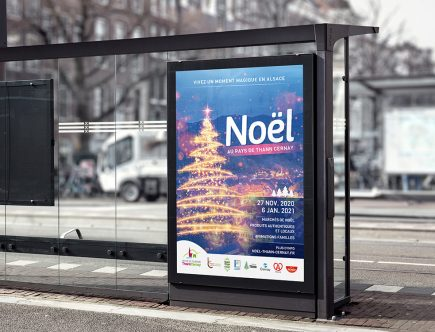 Office de Tourisme Thann Cernay - Affiche noel 2020