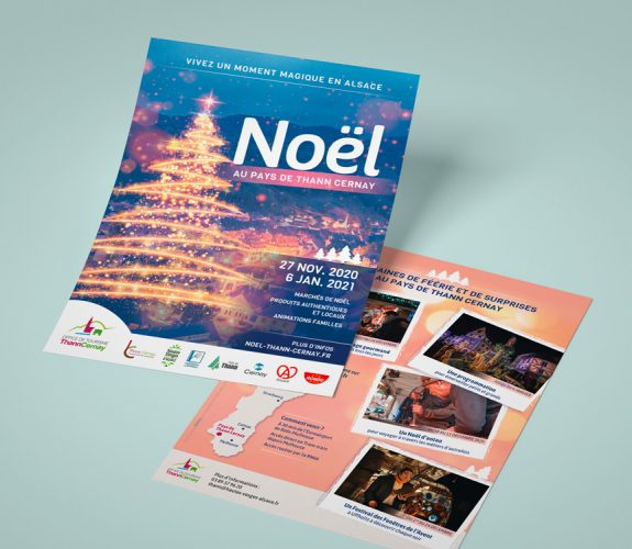 Office de Tourisme Thann Cernay - flyer noel 2020