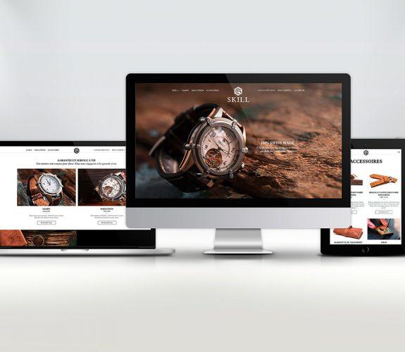 Skill - Site internet